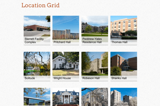 Campus Directory Pro WordPress plugin location grid view