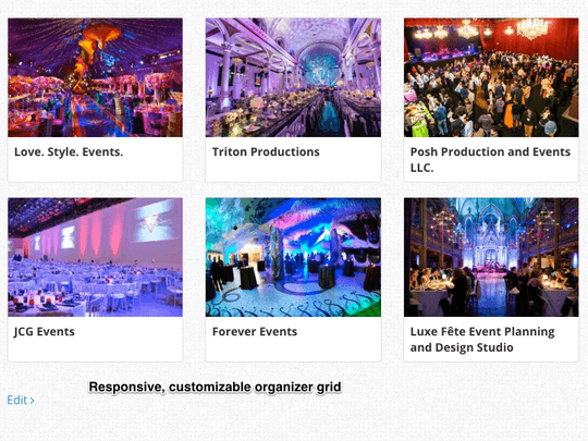 WP Easy Events Pro WordPress plugin allows event organizers in fully responsive, customizable grid format