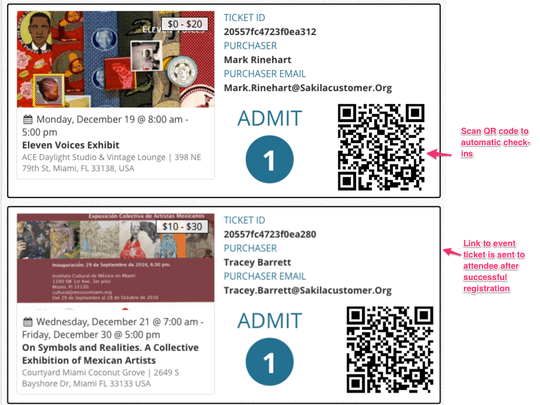 WP Easy Events Pro WordPress plugin allows easy check-ins with scanning QR codes